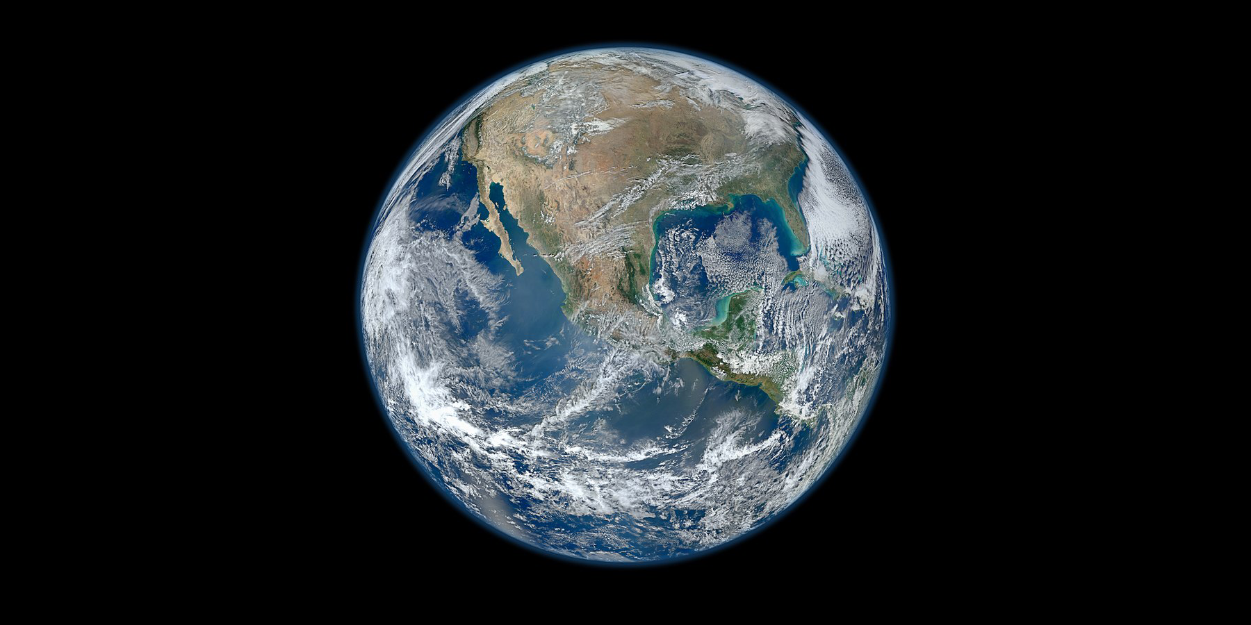Photograph of Earth from space