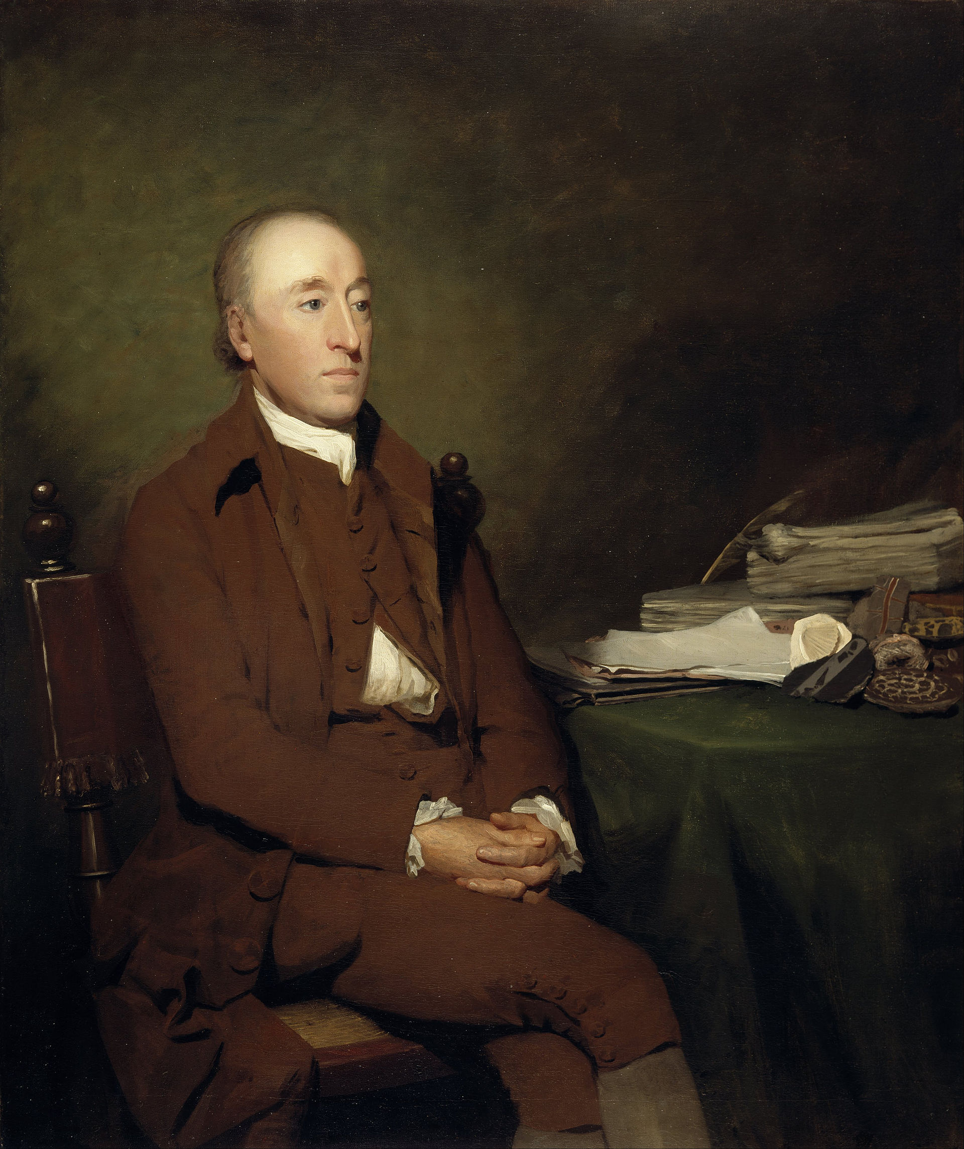 Portrait of James Hutton